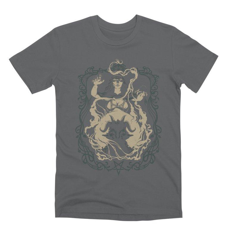 CRYSTAL BALL Men's Premium T-Shirt by Baron Wolf Creative