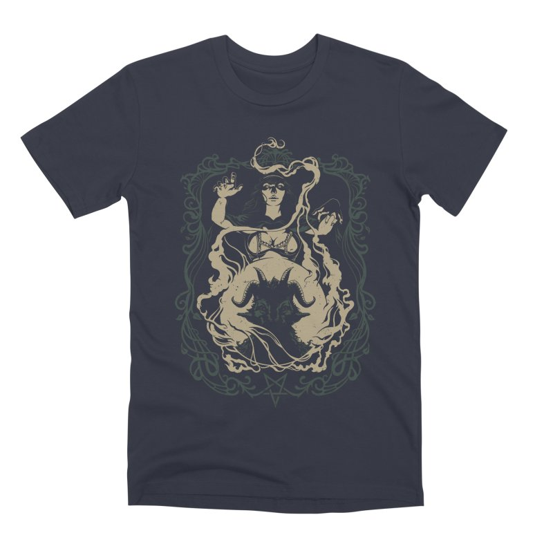 CRYSTAL BALL Men's Premium T-Shirt by Baron Wolf Creative