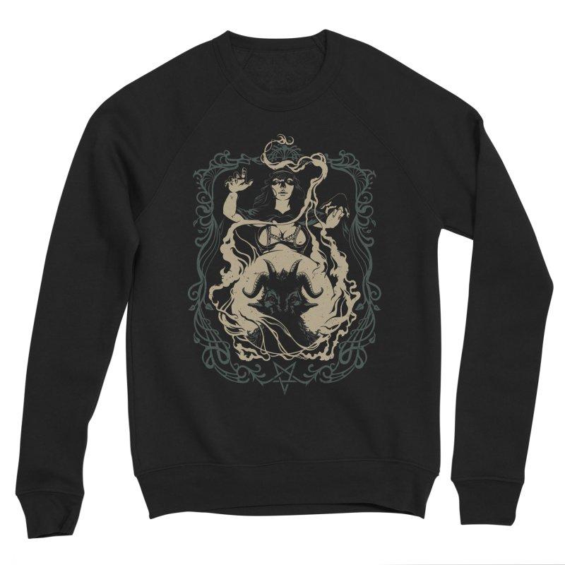CRYSTAL BALL Men's Sponge Fleece Sweatshirt by Baron Wolf Creative