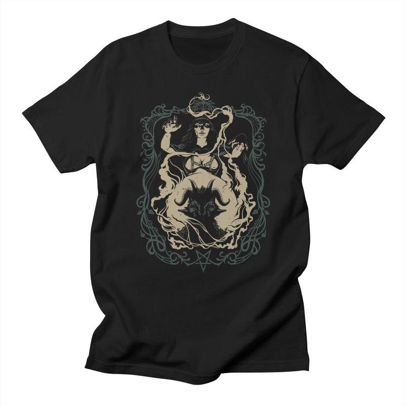 CRYSTAL BALL Women's Regular Unisex T-Shirt by Baron Wolf Creative