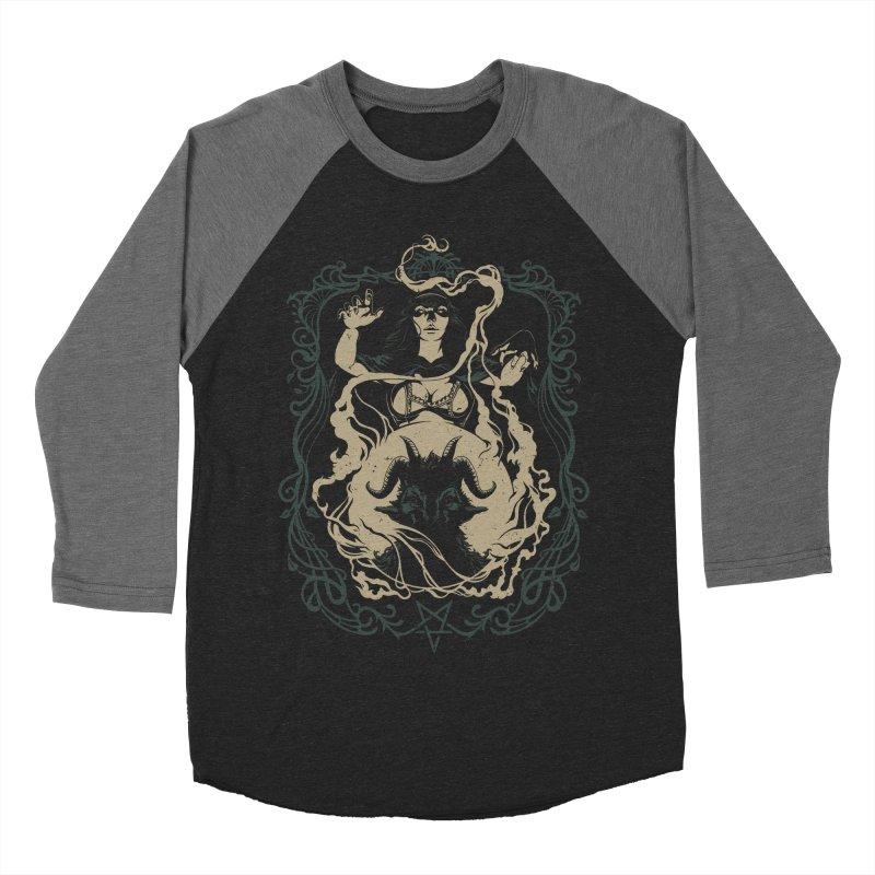 CRYSTAL BALL Women's Baseball Triblend Longsleeve T-Shirt by Baron Wolf Creative