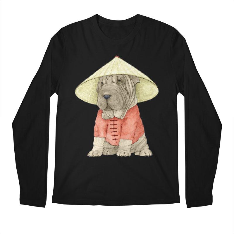 Shar Pei Men's Regular Longsleeve T-Shirt by Barruf