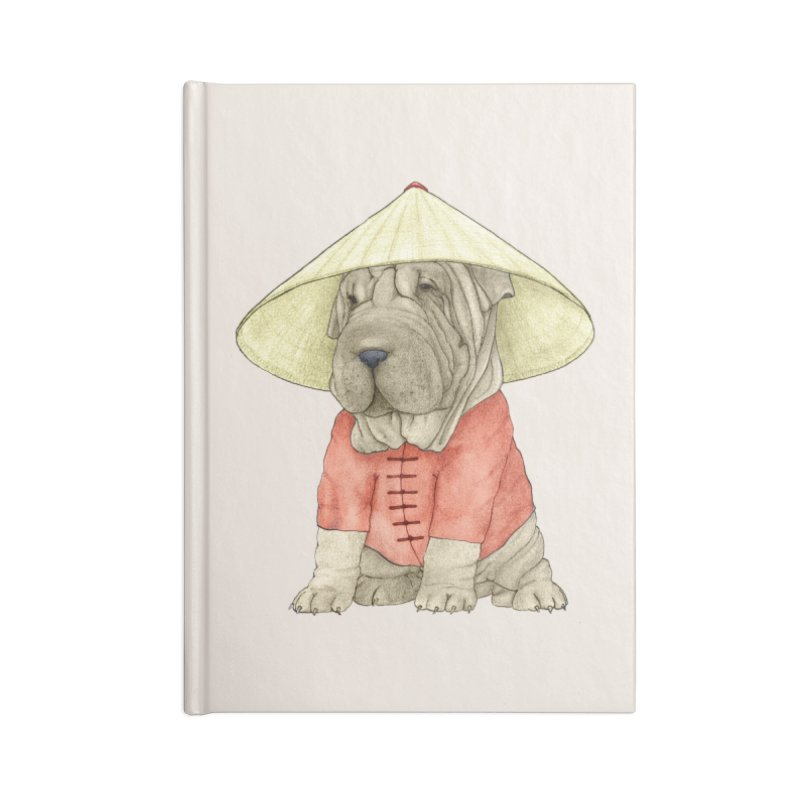 Shar Pei Accessories Blank Journal Notebook by Barruf