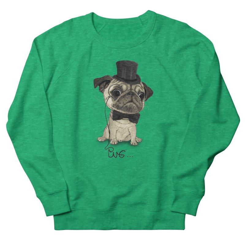 Pug; Gentle Pug Women's Sweatshirt by Barruf