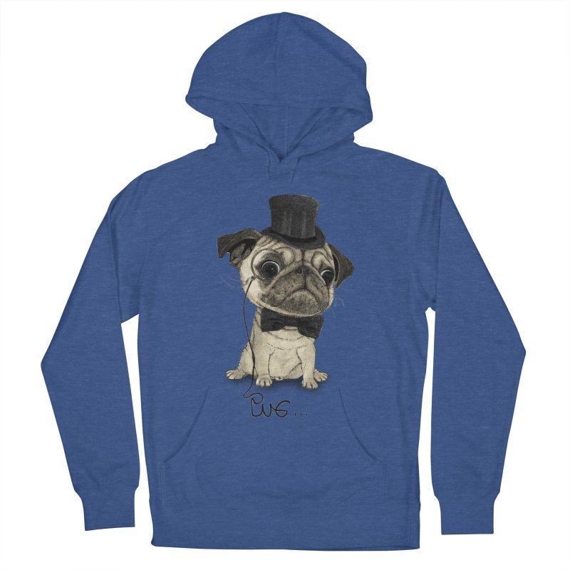 Pug; Gentle Pug Women's Pullover Hoody by Barruf