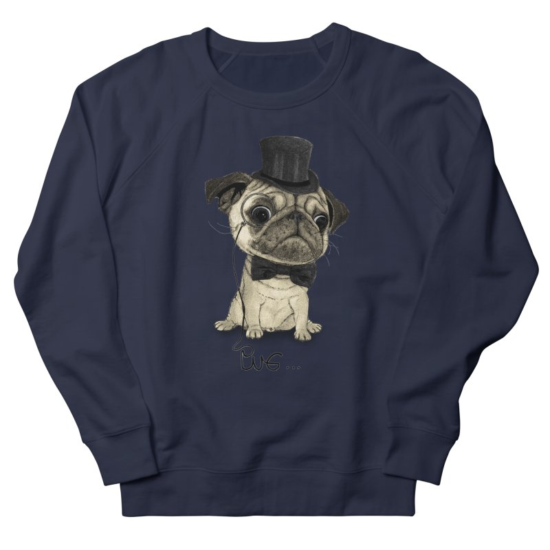 Pug; Gentle Pug Women's Sweatshirt by Barruf