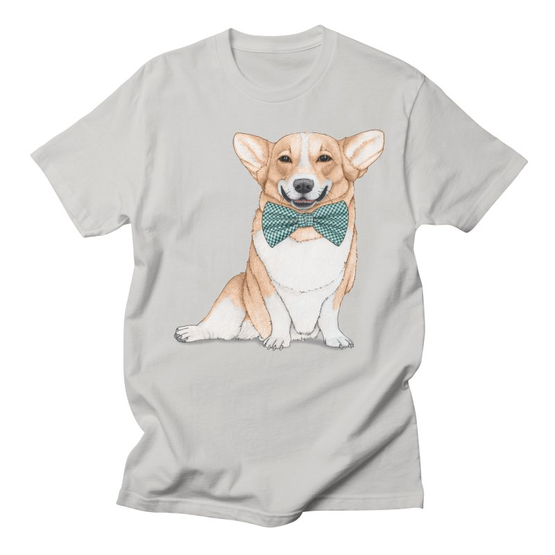 Corgi Dog Men's Regular T-Shirt by Barruf