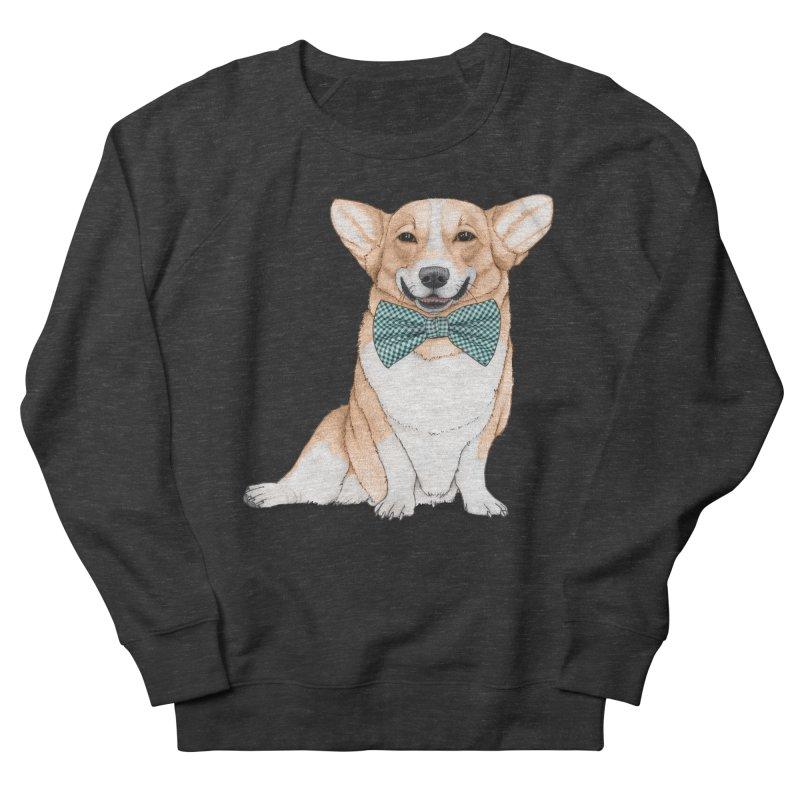 Corgi Dog Women's French Terry Sweatshirt by Barruf