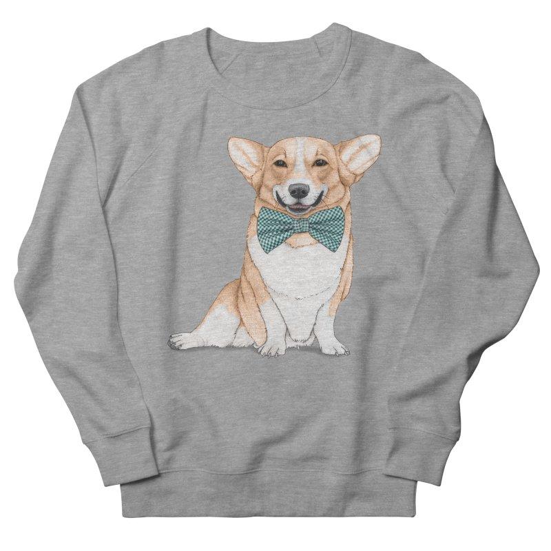 Corgi Dog Men's Sweatshirt by Barruf