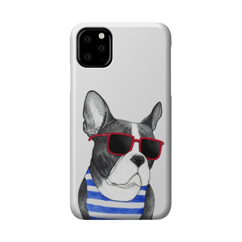 Frenchie Summer Style Accessories Phone Case by Barruf