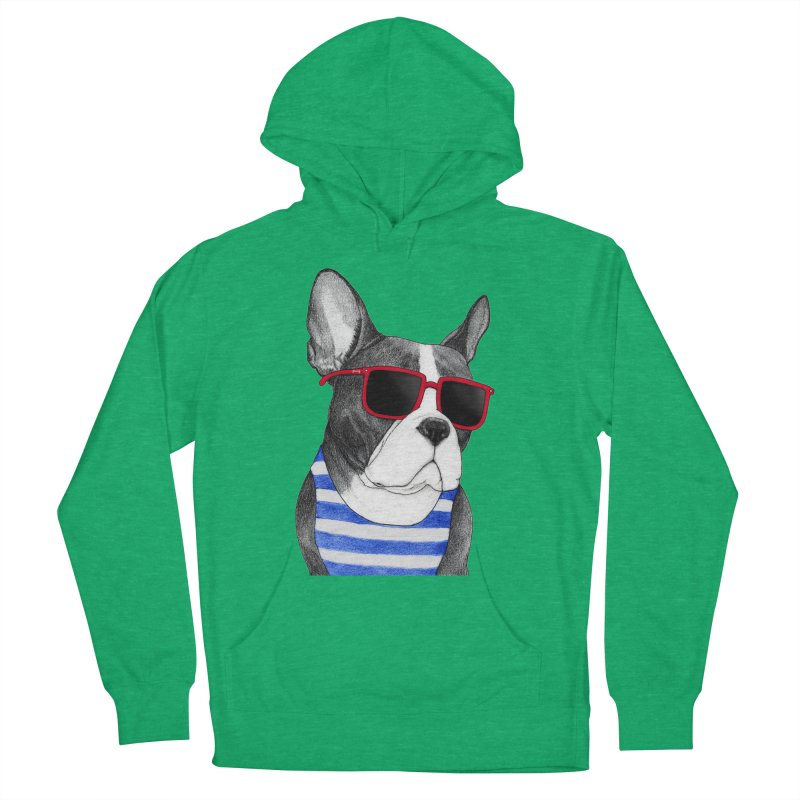 Frenchie Summer Style Women's Pullover Hoody by Barruf