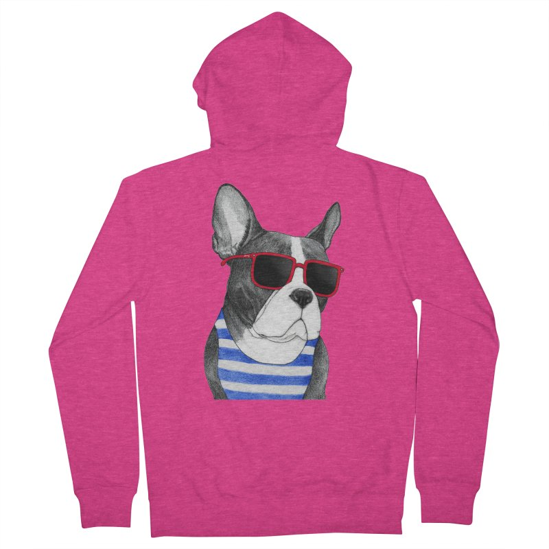 Frenchie Summer Style Women's Zip-Up Hoody by Barruf
