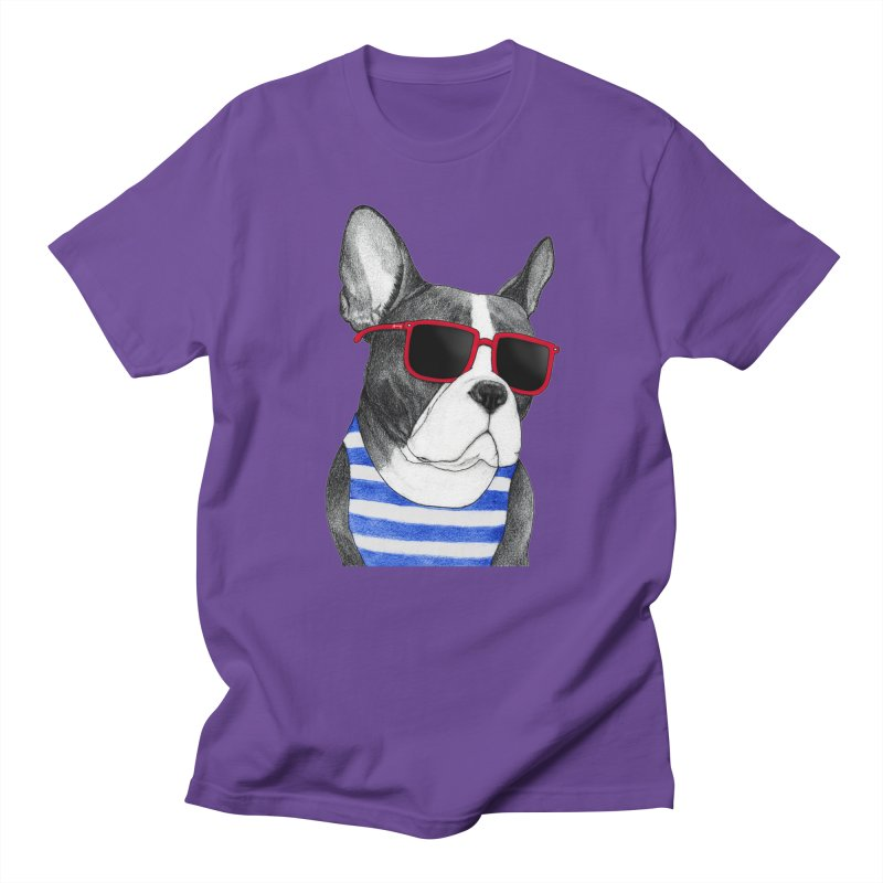 Frenchie Summer Style Men's T-Shirt by Barruf