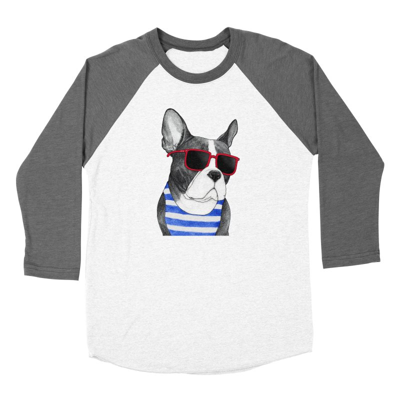 Frenchie Summer Style Women's Longsleeve T-Shirt by Barruf