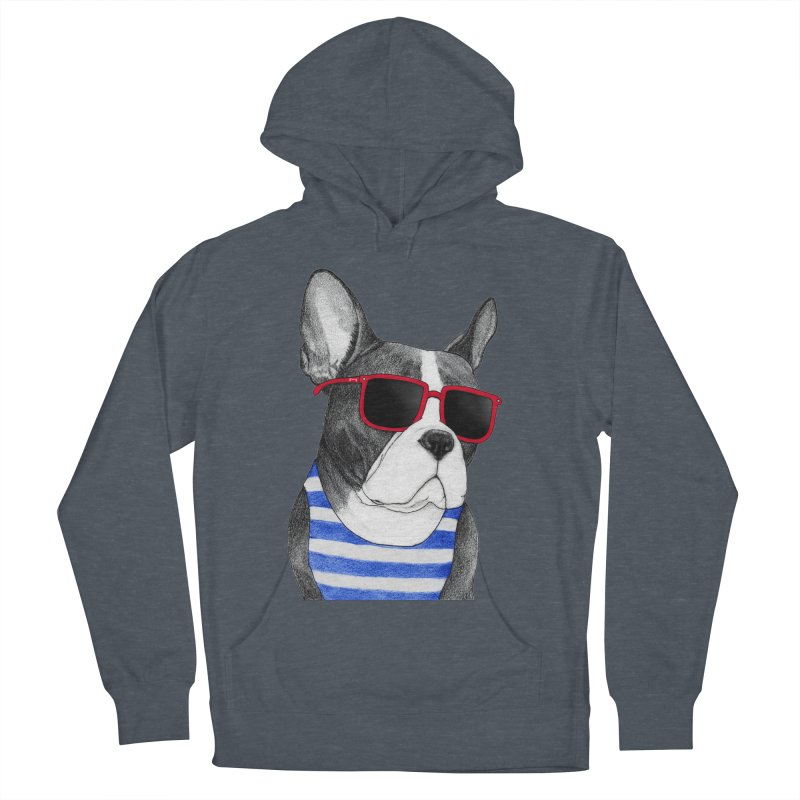 Frenchie Summer Style Men's Pullover Hoody by Barruf
