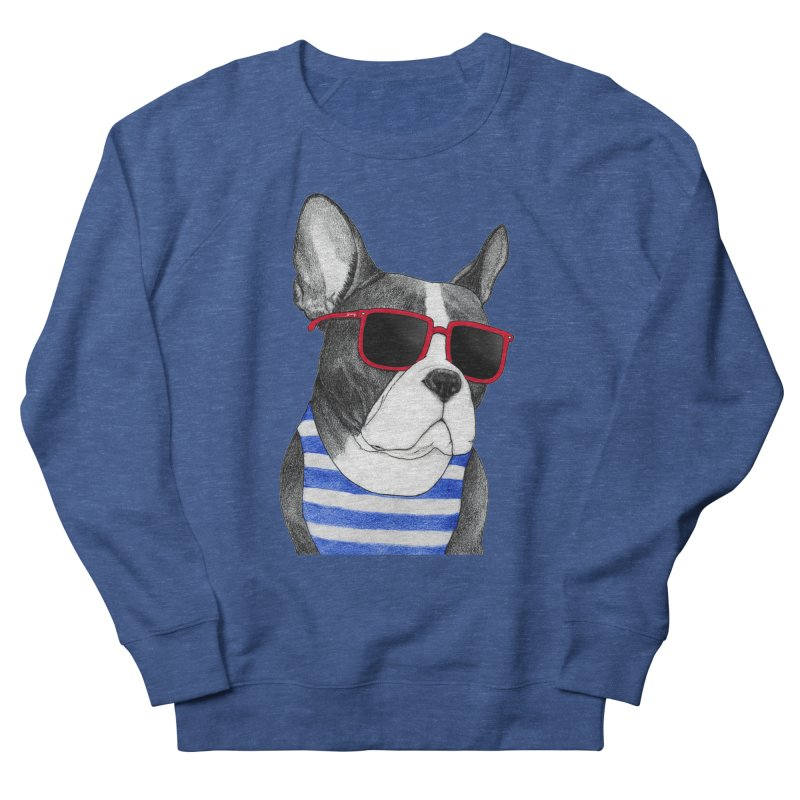 Frenchie Summer Style Men's Sweatshirt by Barruf