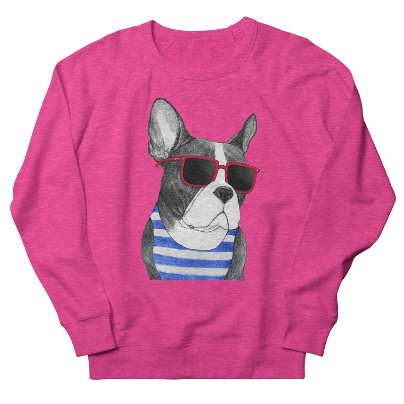 Frenchie Summer Style Men's French Terry Sweatshirt by Barruf