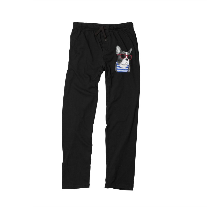 Frenchie Summer Style Men's Lounge Pants by Barruf