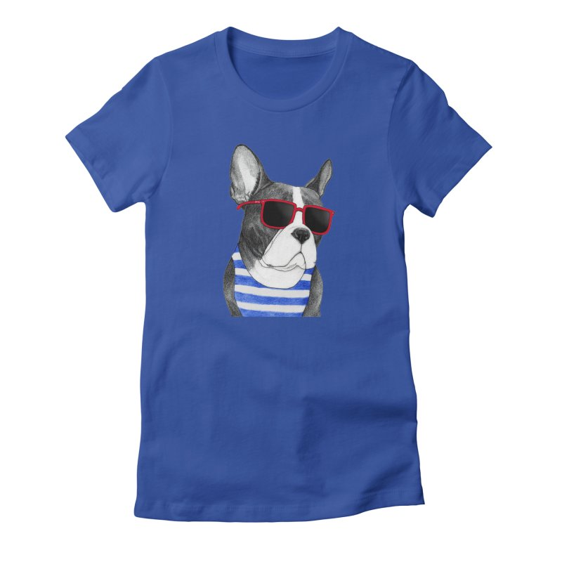 Frenchie Summer Style Women's T-Shirt by Barruf