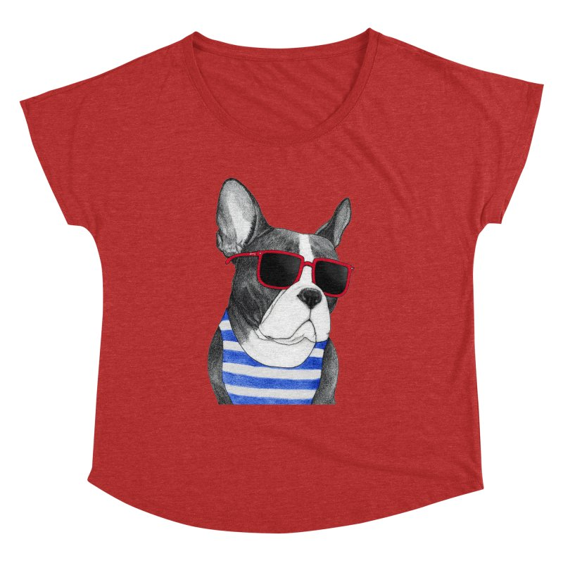Frenchie Summer Style Women's Dolman by Barruf
