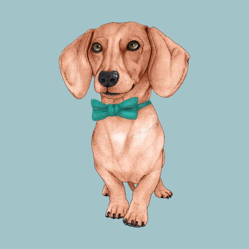 Dachshund, The Wiener Dog Men's Tank by Barruf