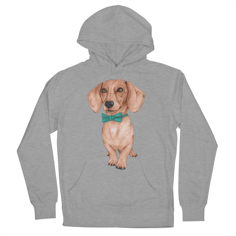 Dachshund, The Wiener Dog Women's Pullover Hoody by Barruf