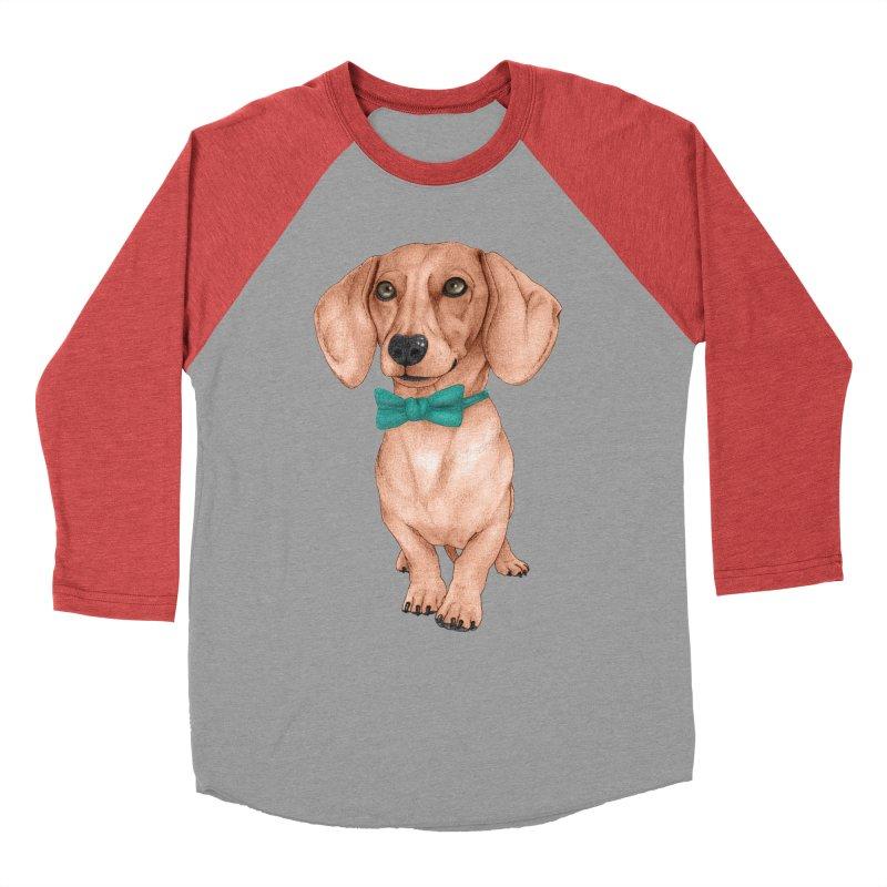 Dachshund, The Wiener Dog Men's Longsleeve T-Shirt by Barruf