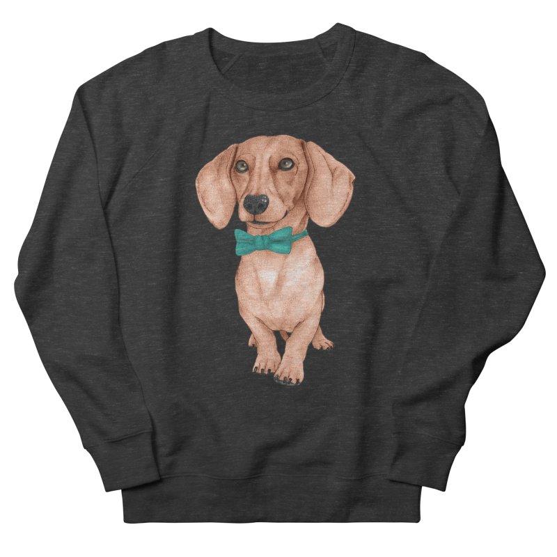 Dachshund, The Wiener Dog Women's French Terry Sweatshirt by Barruf