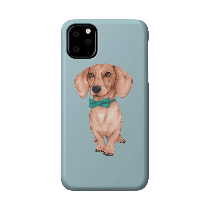 Dachshund, The Wiener Dog Accessories Phone Case by Barruf