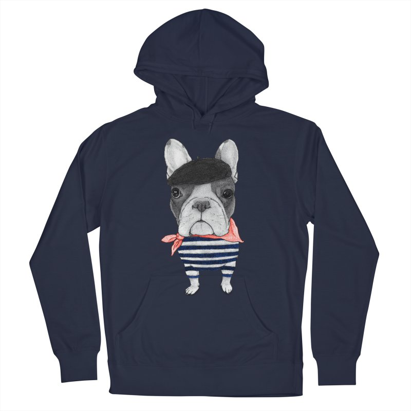 French Bulldog Men's Pullover Hoody by Barruf