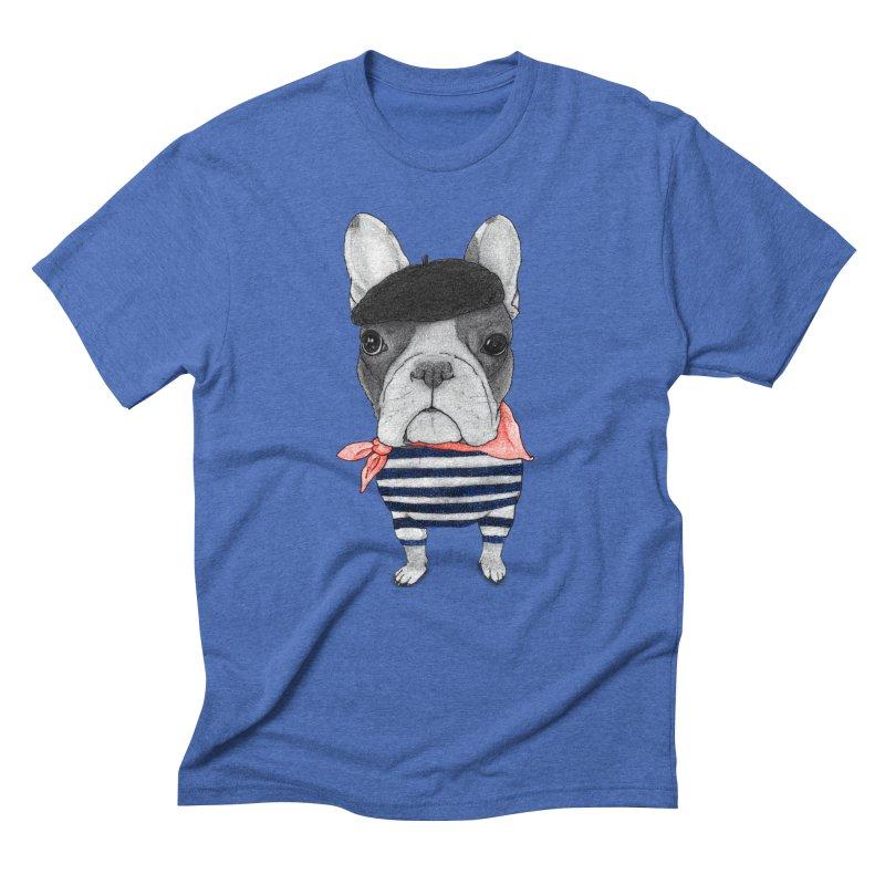 French Bulldog Men's T-Shirt by Barruf