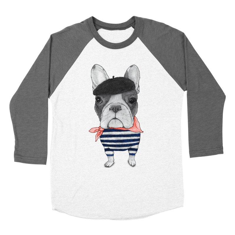 French Bulldog Women's Longsleeve T-Shirt by Barruf