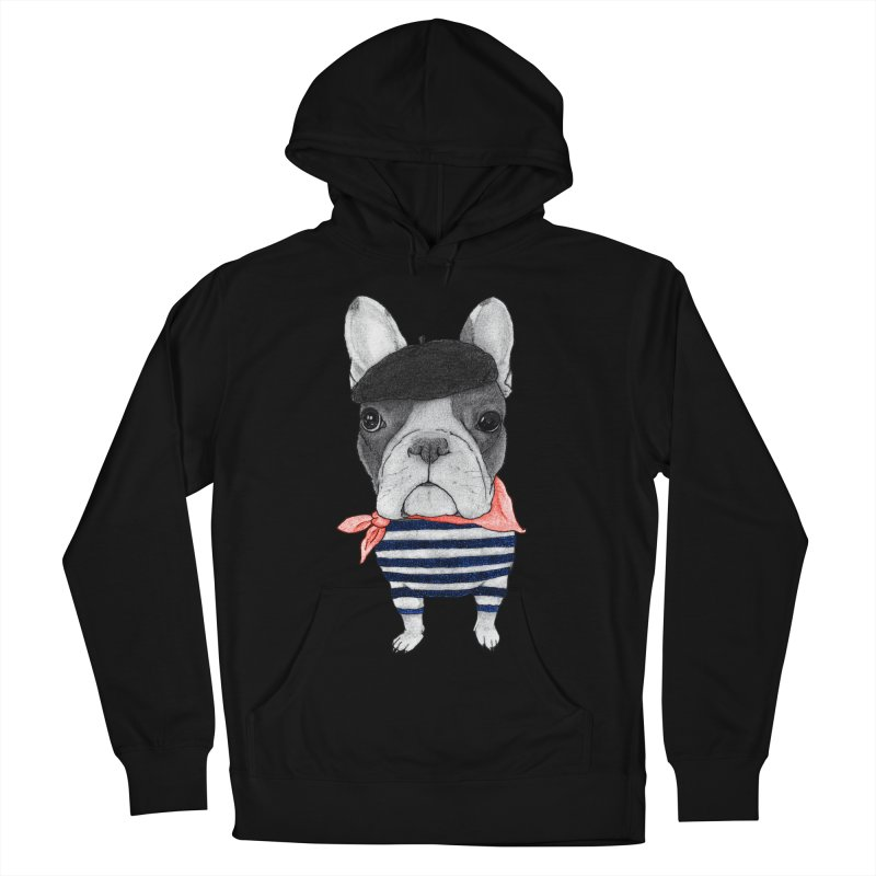 French Bulldog Women's French Terry Pullover Hoody by Barruf