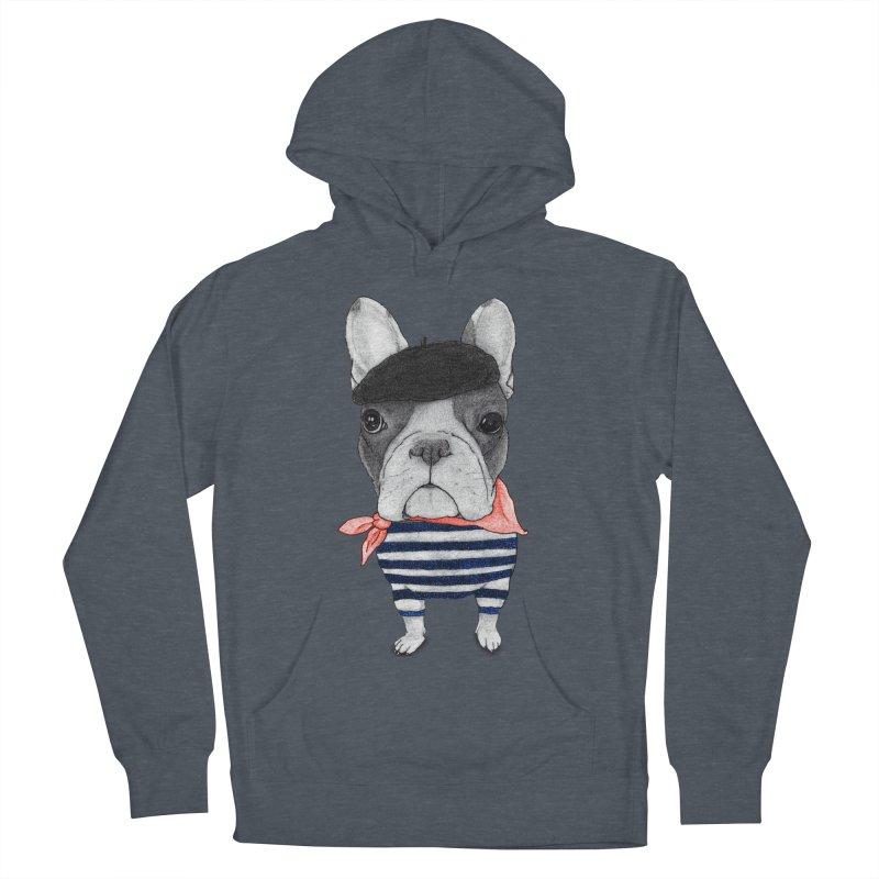 French Bulldog Men's Pullover Hoody by Barruf