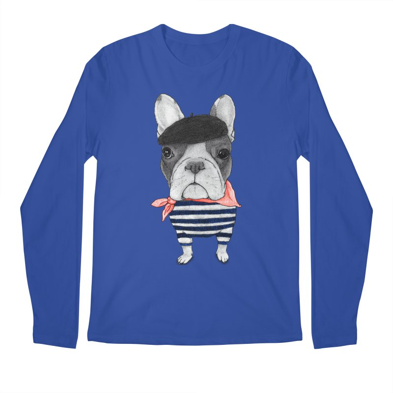 French Bulldog Men's Regular Longsleeve T-Shirt by Barruf