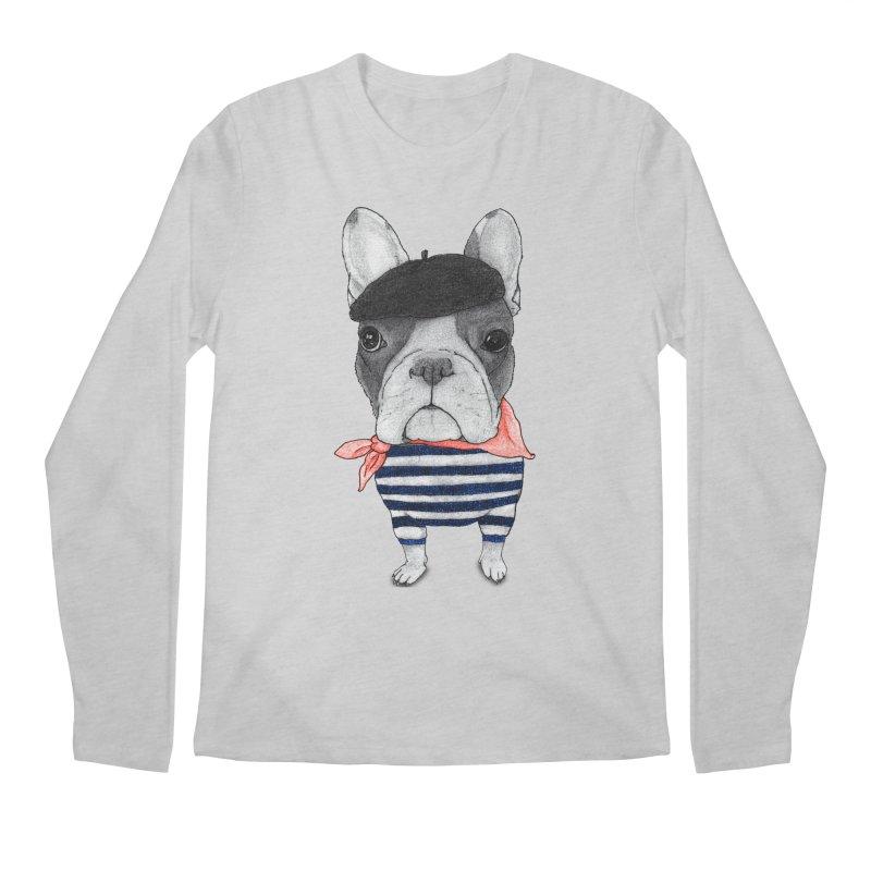 French Bulldog Men's Regular Longsleeve T-Shirt by Barruf