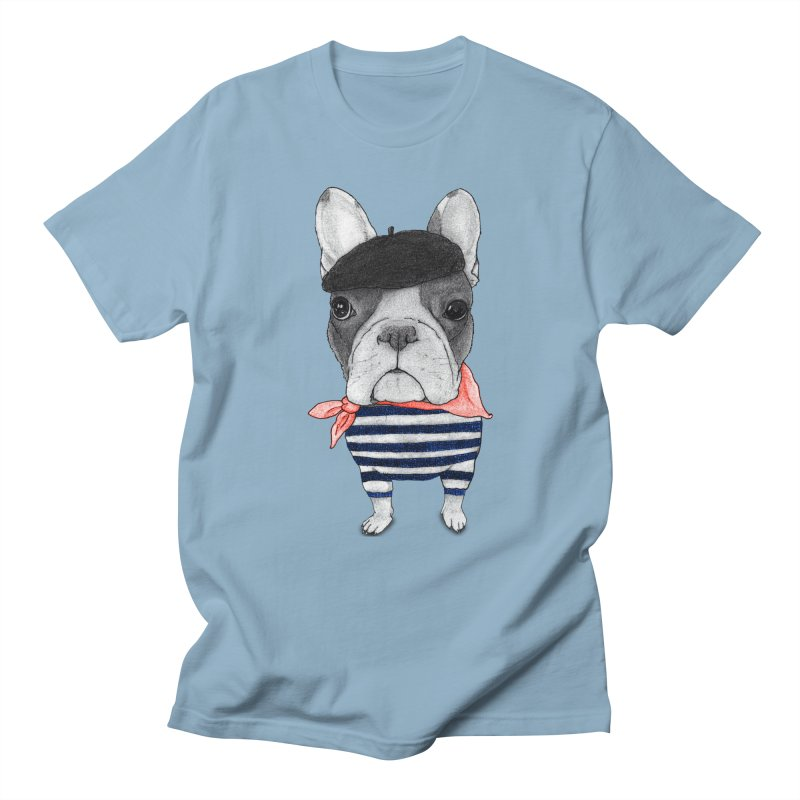 French Bulldog Men's T-shirt by Barruf