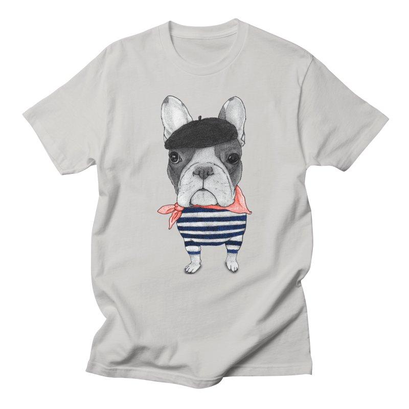 French Bulldog Men's Regular T-Shirt by Barruf