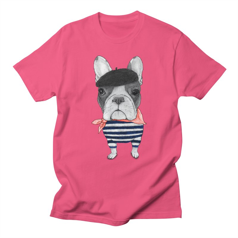 French Bulldog Men's Regular T-Shirt by Barruf