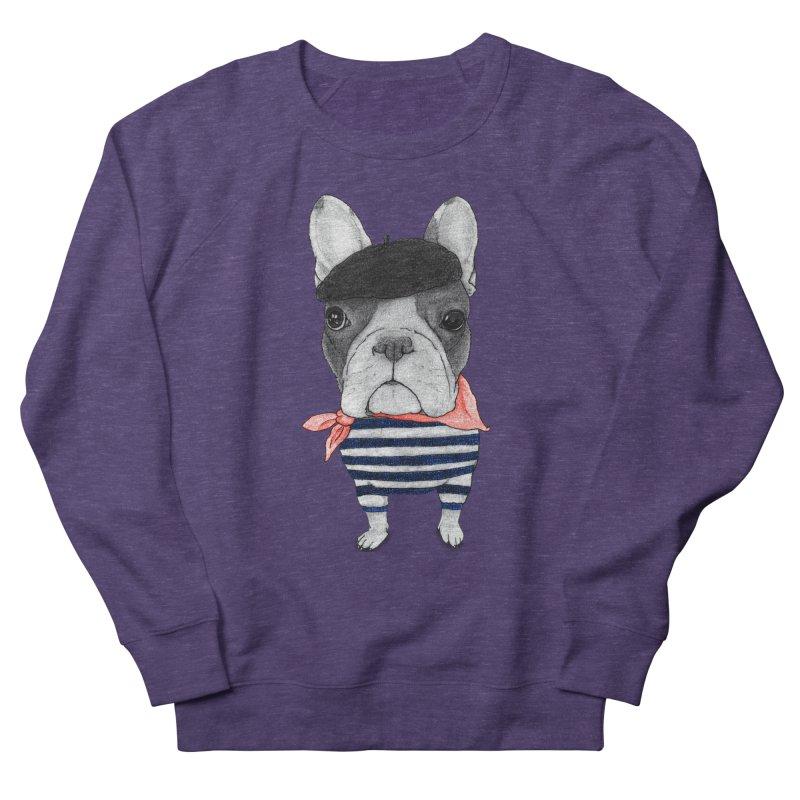 French Bulldog Men's Sweatshirt by Barruf