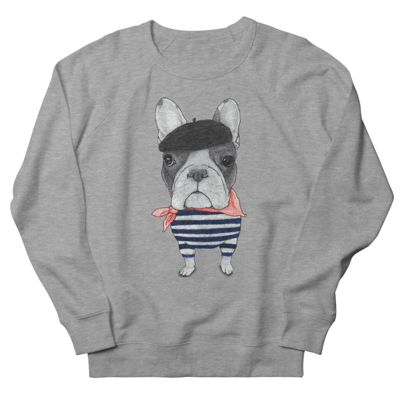 French Bulldog Men's Sweatshirt by Barruf