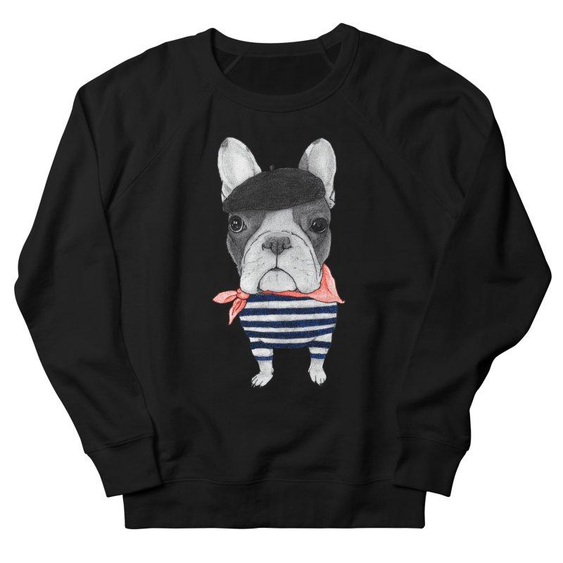 French Bulldog Men's French Terry Sweatshirt by Barruf