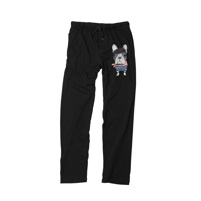 French Bulldog Men's Lounge Pants by Barruf