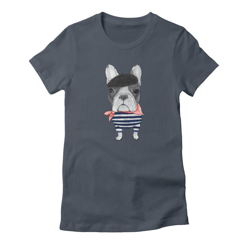 French Bulldog Women's T-Shirt by Barruf