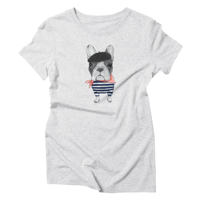 French Bulldog Women's T-Shirt by Barruf