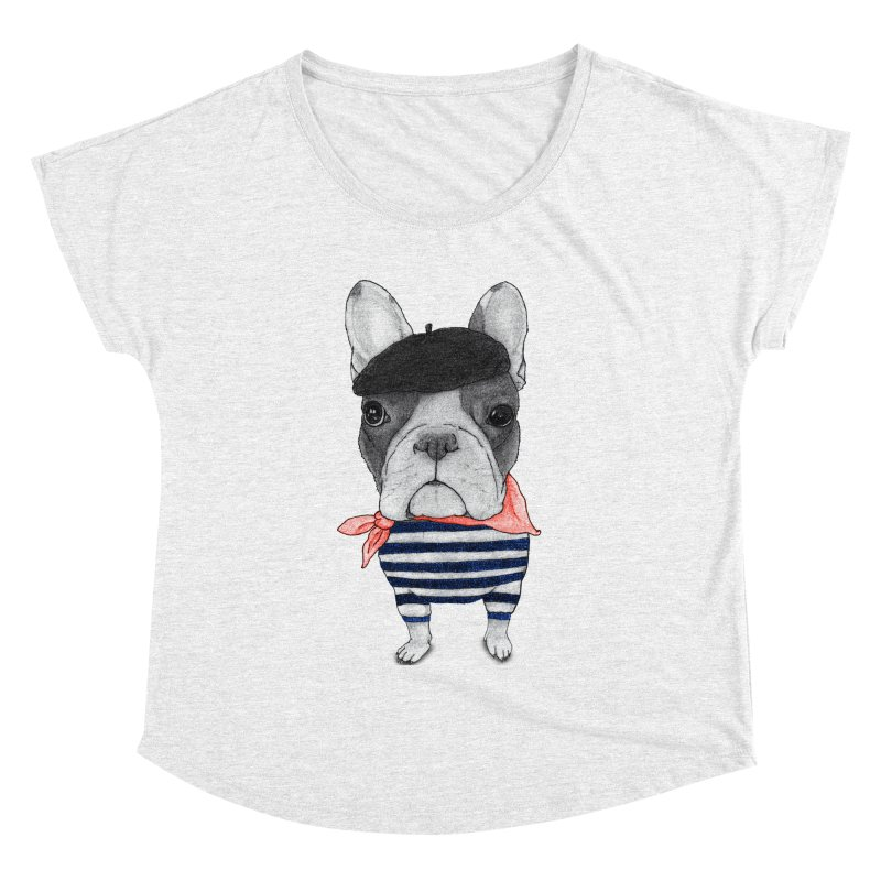 French Bulldog Women's Dolman by Barruf