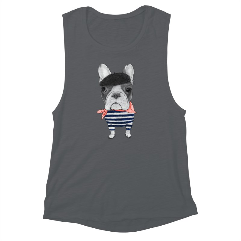French Bulldog Women's Muscle Tank by Barruf