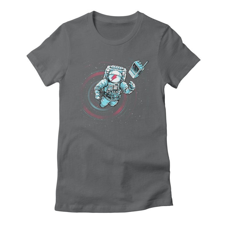 And there's nothing I can do Women's Fitted T-Shirt by Barry Blankenship Shirts