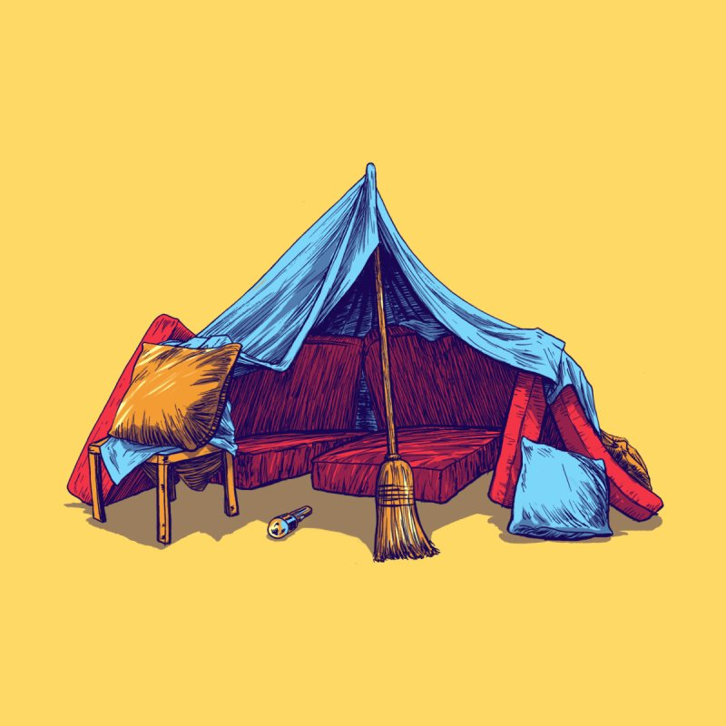 Blanket Fort by Barry Blankenship Shirts
