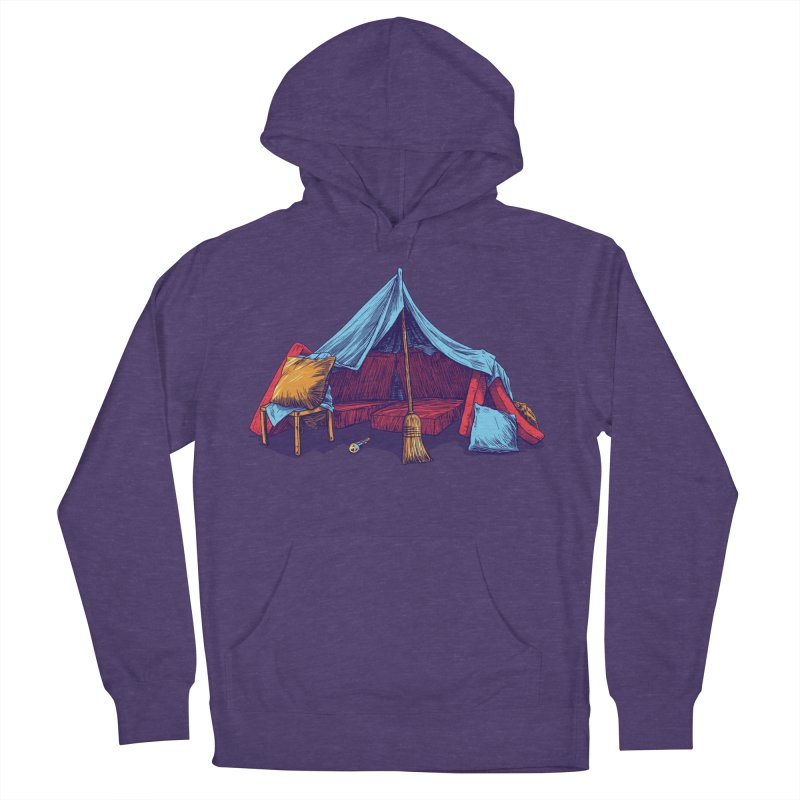 Blanket Fort Men's Pullover Hoody by Barry Blankenship Shirts